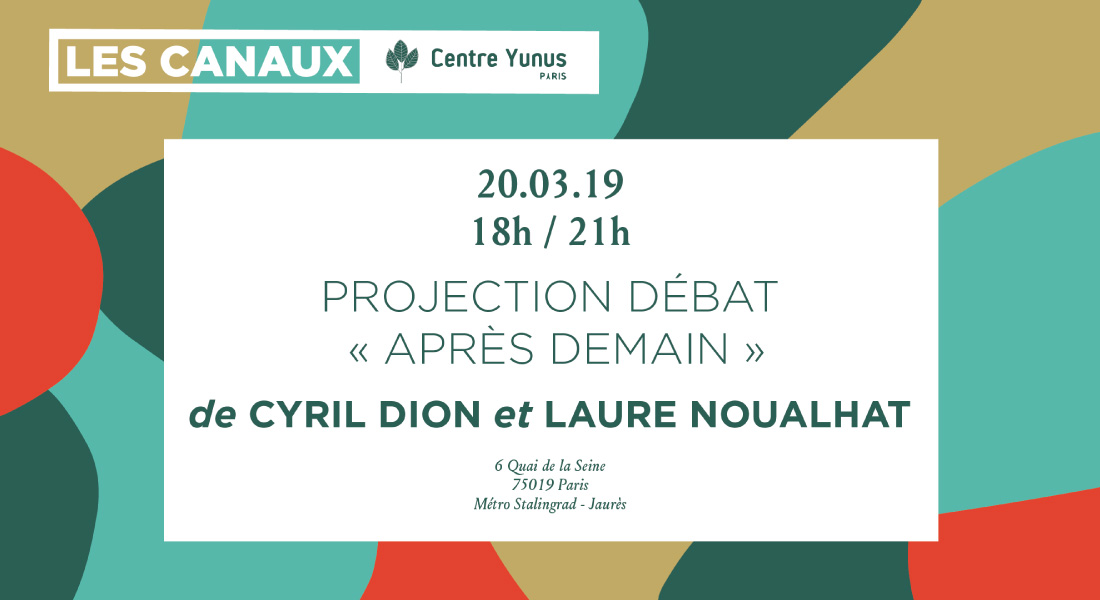 Projection & Debate around Après-Demain documentary
